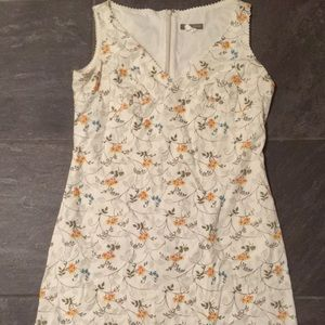 Above the knee floral j crew dress
